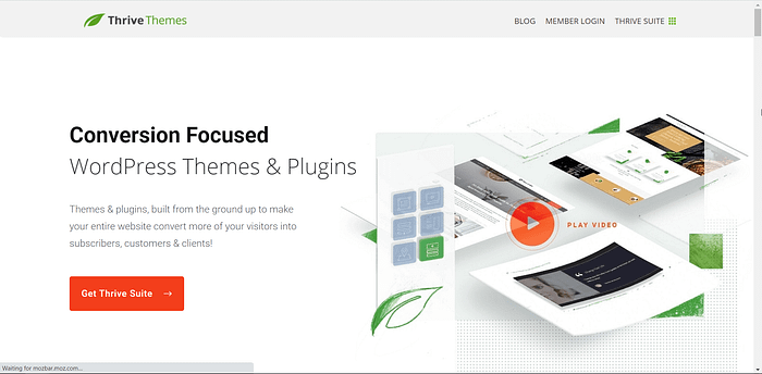 ThriveThemes screenshot