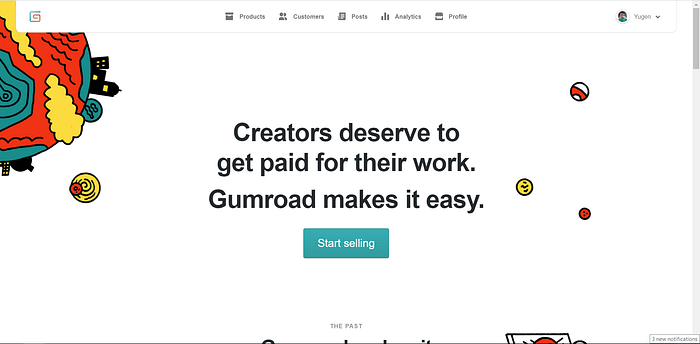 Gumroad screenshot