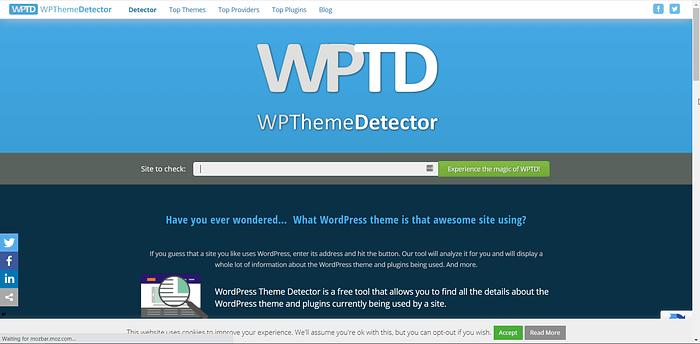 WPThemeDetector screenshot