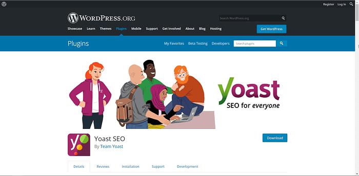 Yoast screenshot