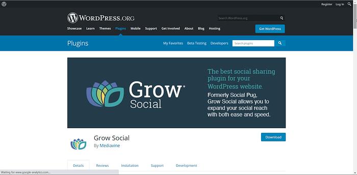 Grow Social screenshot